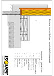 Casa pe structura de lemn - Izolatie intre montanti ISOVER - FORTE (ROLA) VARIO KM DUPLEX