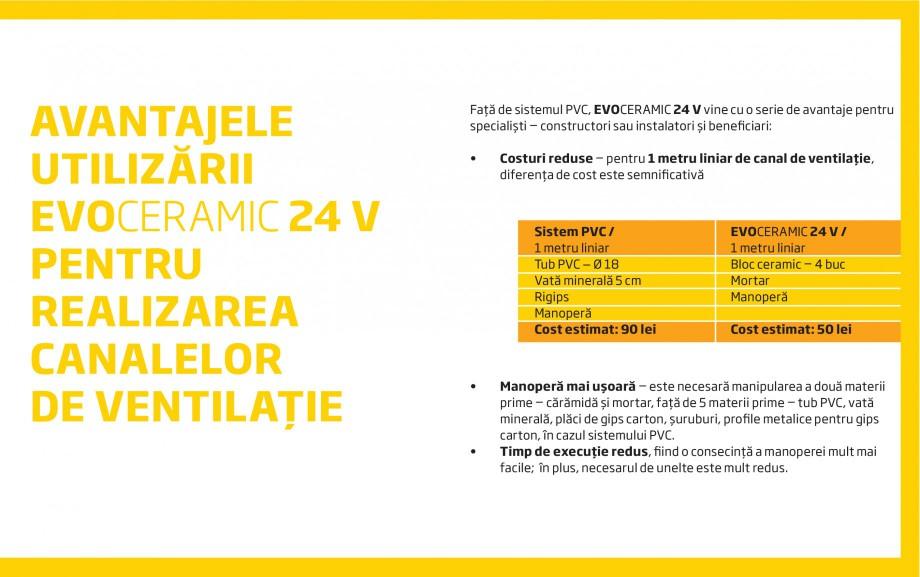 Pagina 3 - Caramida pentru canale de ventilatie CEMACON EVOCERAMIC EC 24 V Catalog, brosura Romana...