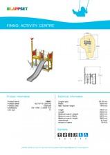 Echipament de joaca pentru copii - ACTIVITY CENTRE 120054M LAPPSET