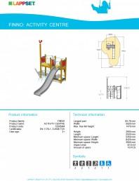 Echipament de joaca pentru copii - ACTIVITY CENTRE 120054M