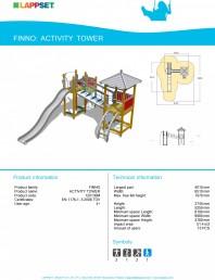 Echipament de joaca pentru copii - ACTIVITY TOWER 120130M