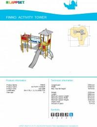 Echipament de joaca pentru copii - ACTIVITY TOWER 120135M