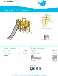 Echipament de joaca pentru copii - ACTIVITY TOWER 139100M
