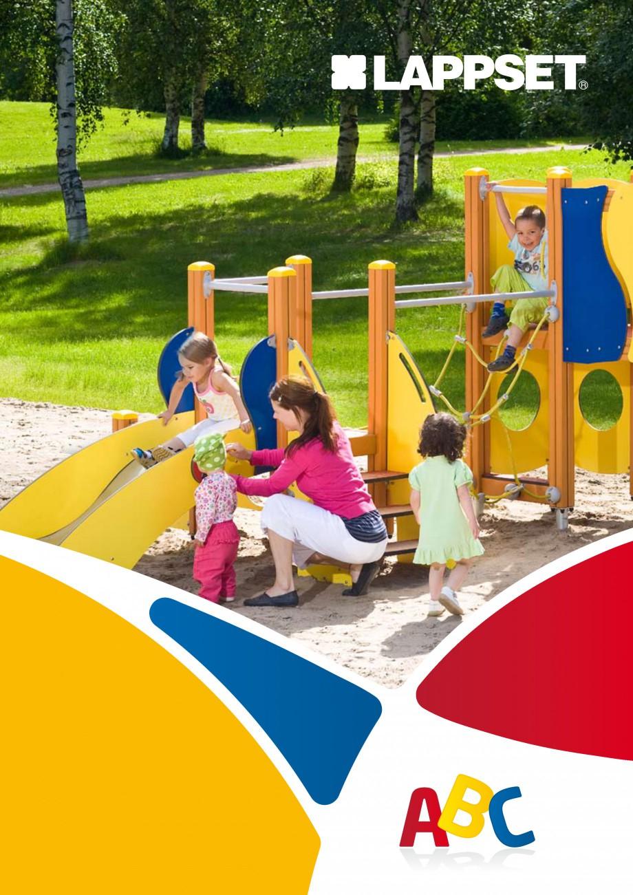 Pagina 1 - Echipamente de joaca din lemn pentru copii foarte mici LAPPSET FINNO ABC Catalog, brosura...