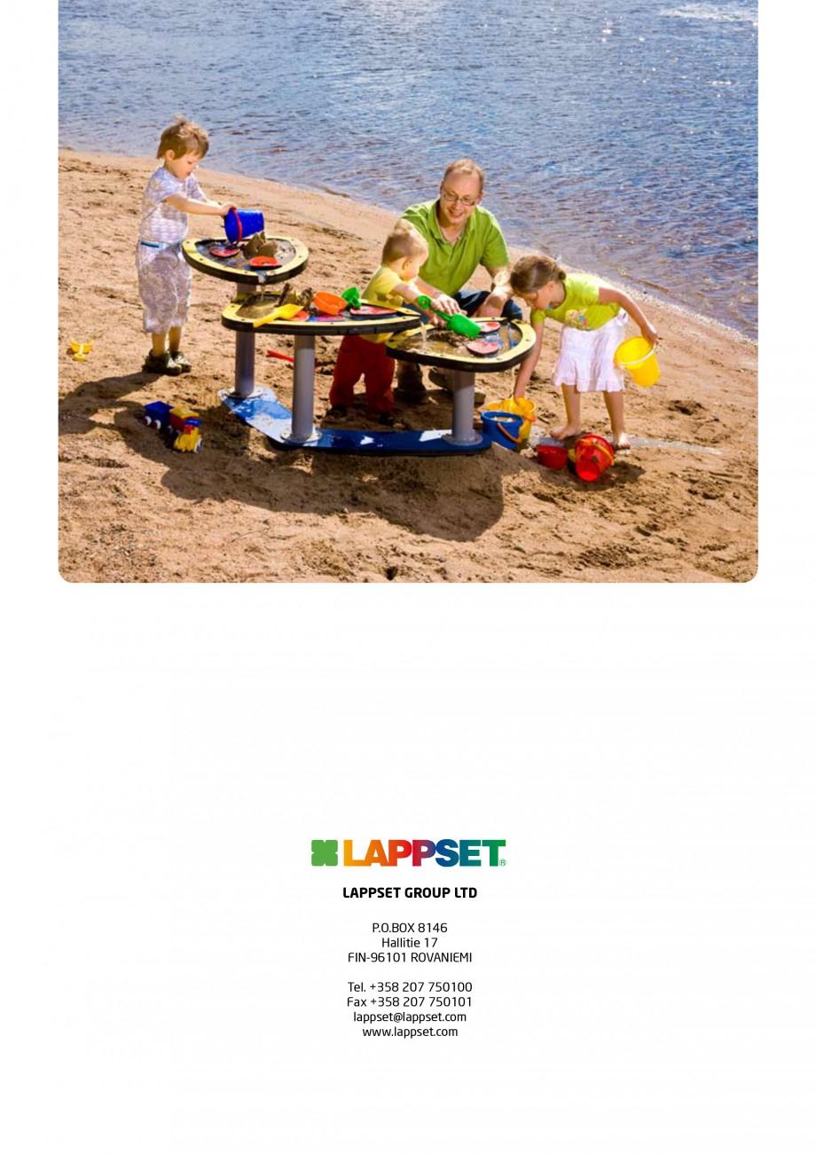 Pagina 8 - Echipamente de joaca din lemn pentru copii foarte mici LAPPSET FINNO ABC Catalog, brosura...