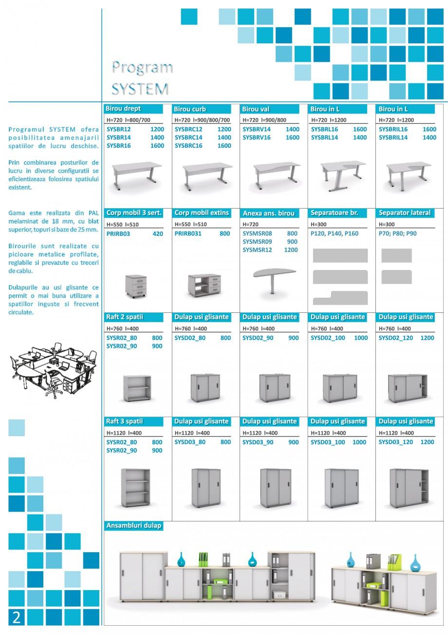 Catalog, brosura Mobilier pentru birouri - gama executiva CLBRC16 P160, CLUB01, CLUB02, KABRC16 P160, KABRC16 P160 x2, KABRC16 P160/P80, KAPPA01, KAPPA02, SYS01, SYS02, SYS03, SYS04, SYSBRC16 P160, SYSBRC16 P160/P80_2, SYSBRC16 P160/P80, SYSBRL16 SYSMSR12 P120, SYSBRV16 P160, SYSD02_80 SYSR02_80, SYSD03_100 SYSD02_80 SYSR02_80, SYSD03_100/SYSD02_100, SYSD03_100/SYSD02_100 SYSD02_80 SYSR02_80, SYSD03_100/SYSD02_100 SYSR02_90 The Prince International Mobilier pentru birouri PRINCE INTERNATIONAL  - Pagina 2