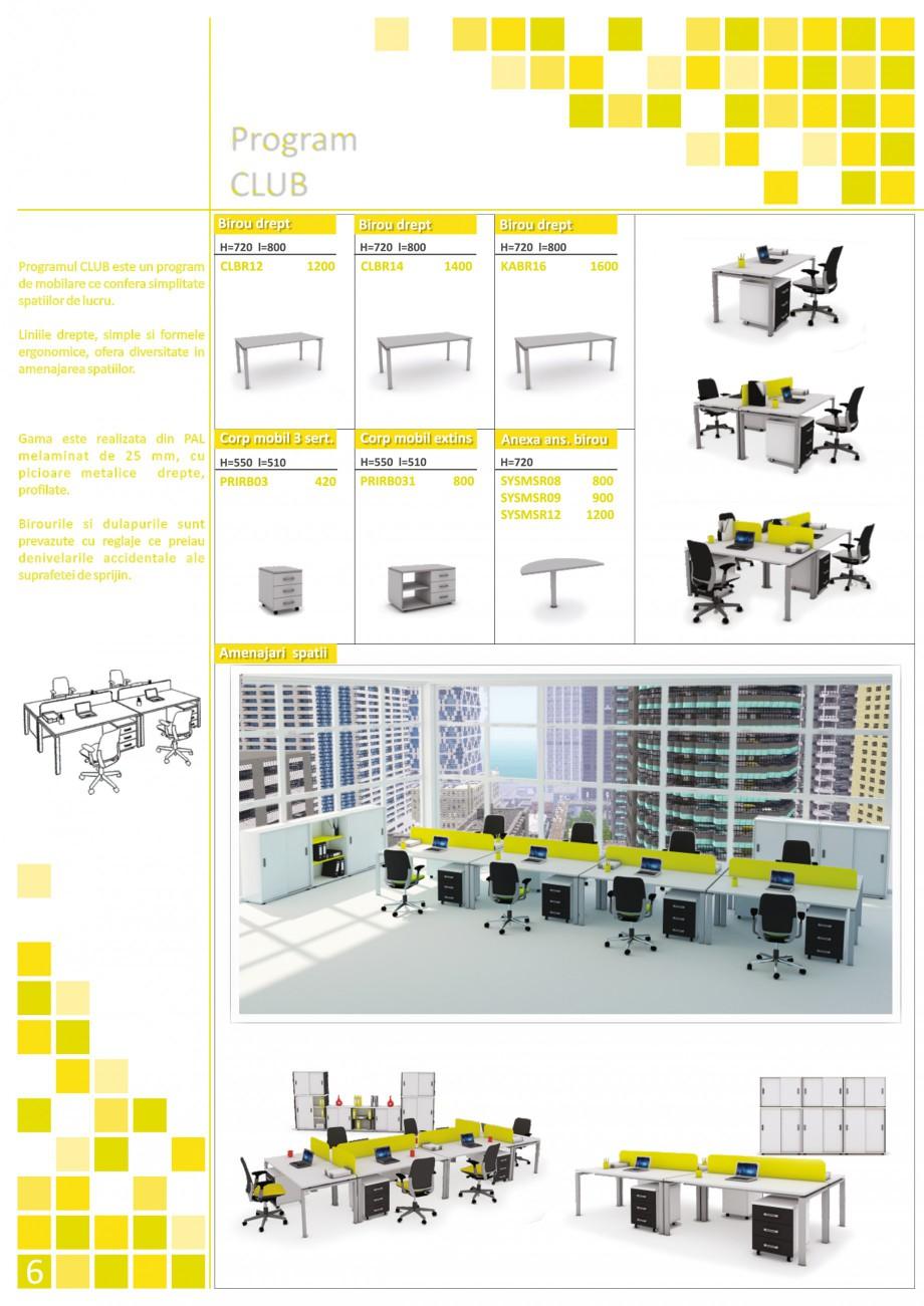 Catalog, brosura Mobilier pentru birouri - gama executiva CLBRC16 P160, CLUB01, CLUB02, KABRC16 P160, KABRC16 P160 x2, KABRC16 P160/P80, KAPPA01, KAPPA02, SYS01, SYS02, SYS03, SYS04, SYSBRC16 P160, SYSBRC16 P160/P80_2, SYSBRC16 P160/P80, SYSBRL16 SYSMSR12 P120, SYSBRV16 P160, SYSD02_80 SYSR02_80, SYSD03_100 SYSD02_80 SYSR02_80, SYSD03_100/SYSD02_100, SYSD03_100/SYSD02_100 SYSD02_80 SYSR02_80, SYSD03_100/SYSD02_100 SYSR02_90 The Prince International Mobilier pentru birouri PRINCE INTERNATIONAL  - Pagina 6