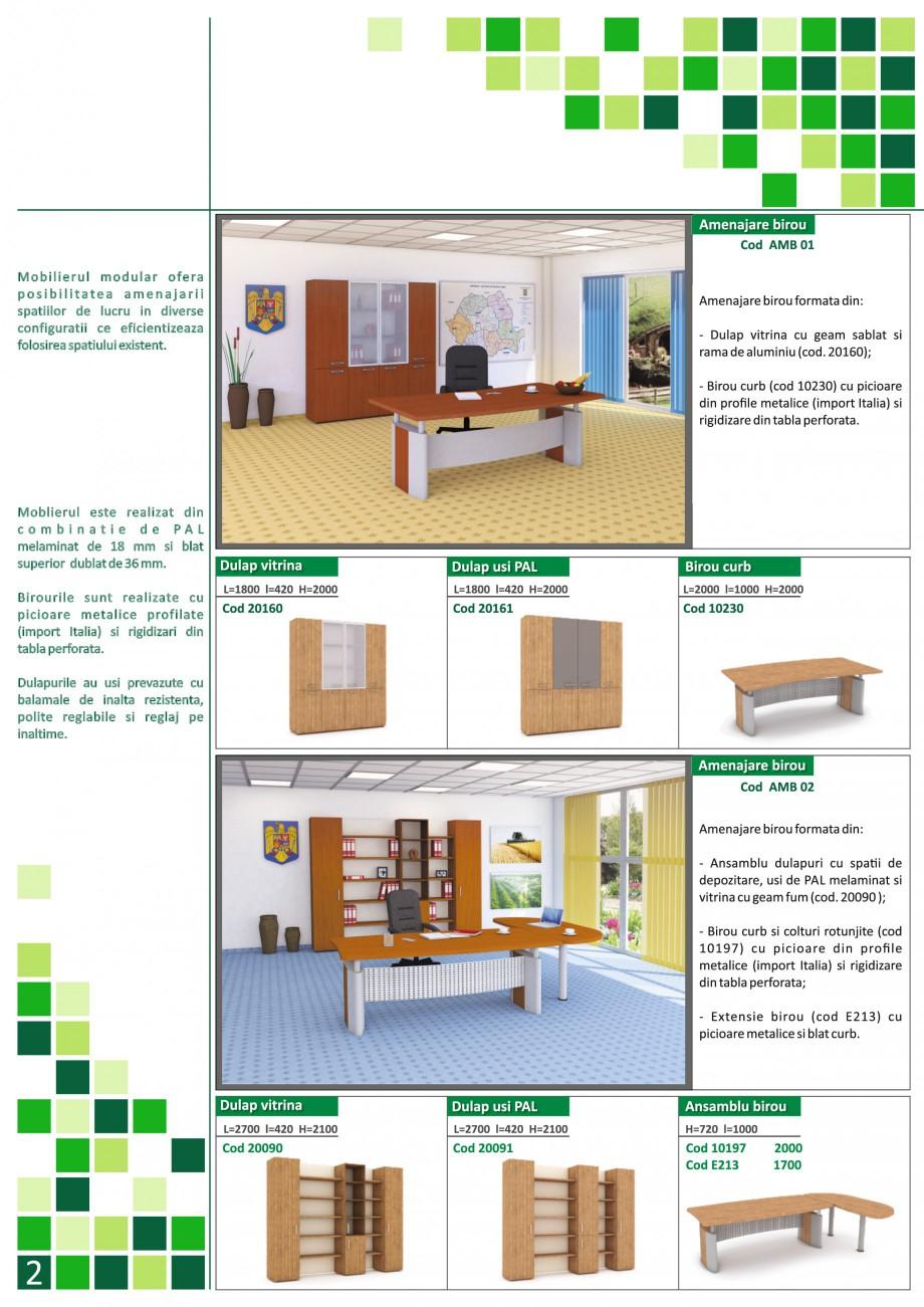 Catalog, brosura Mobilier pentru birouri - gama directoriala AMB 01, AMB 02, AMB 03, AMB 04, AMB 05, AMB 06, AMB 07, AMB 08, AMB 09, AMB 10, AMB 11, AMB 12, AMB 13, AMB 14, AMB 15, AMB 16, AMB 17, AMB 18 The Prince International Mobilier pentru birouri PRINCE INTERNATIONAL  - Pagina 2