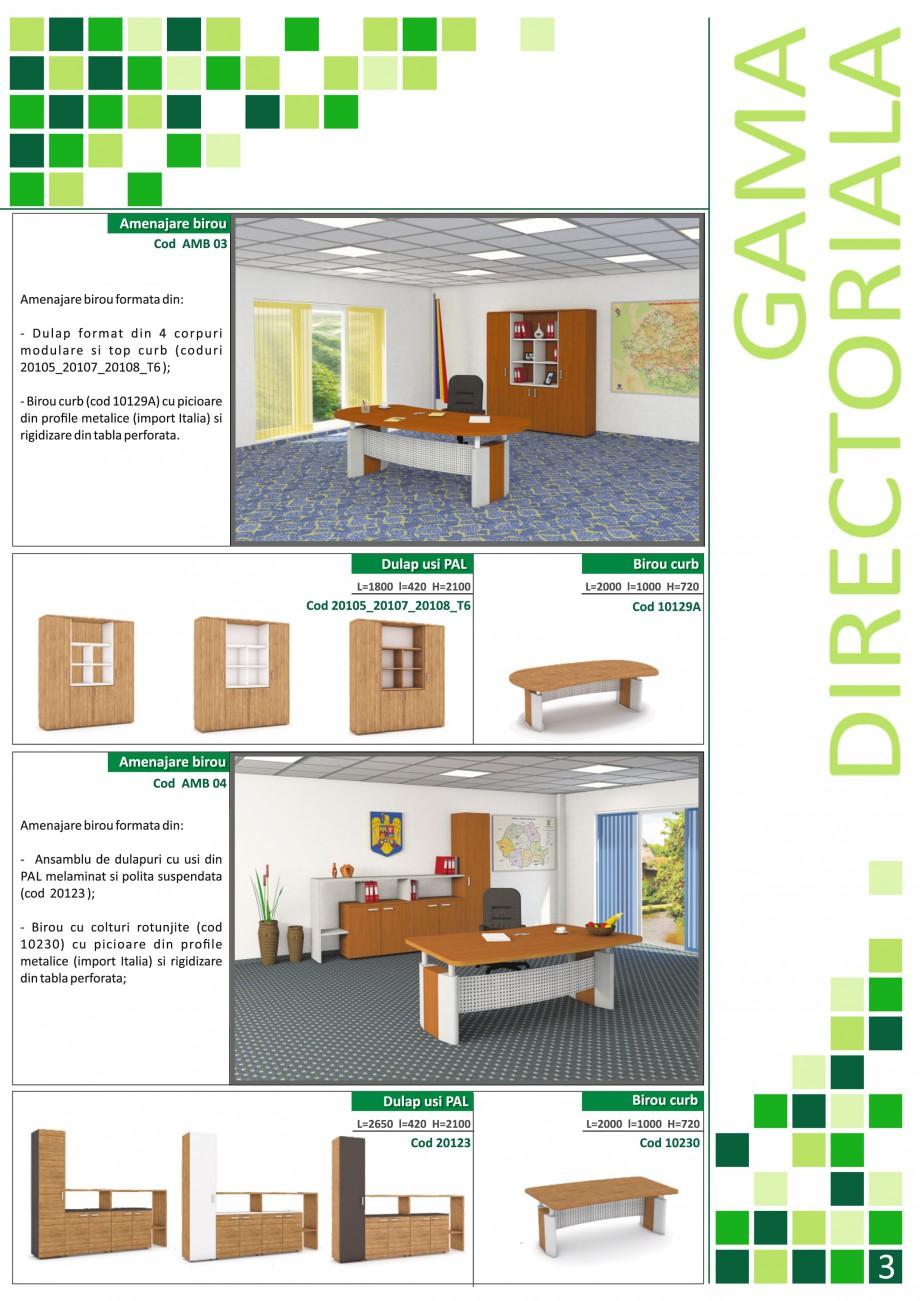 Catalog, brosura Mobilier pentru birouri - gama directoriala AMB 01, AMB 02, AMB 03, AMB 04, AMB 05, AMB 06, AMB 07, AMB 08, AMB 09, AMB 10, AMB 11, AMB 12, AMB 13, AMB 14, AMB 15, AMB 16, AMB 17, AMB 18 The Prince International Mobilier pentru birouri PRINCE INTERNATIONAL  - Pagina 3
