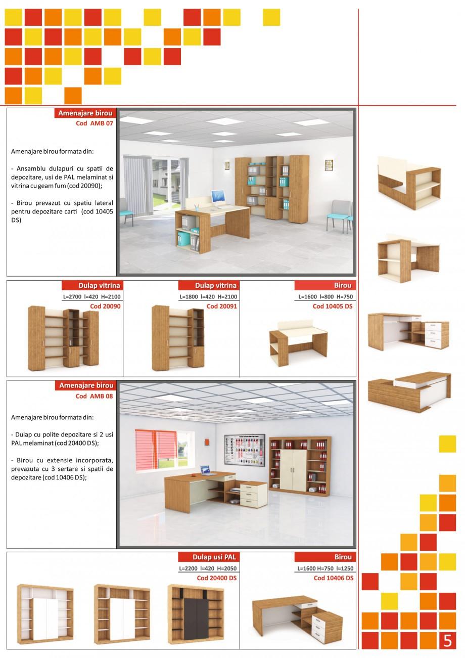 Catalog, brosura Mobilier pentru birouri - gama directoriala AMB 01, AMB 02, AMB 03, AMB 04, AMB 05, AMB 06, AMB 07, AMB 08, AMB 09, AMB 10, AMB 11, AMB 12, AMB 13, AMB 14, AMB 15, AMB 16, AMB 17, AMB 18 The Prince International Mobilier pentru birouri PRINCE INTERNATIONAL  - Pagina 5