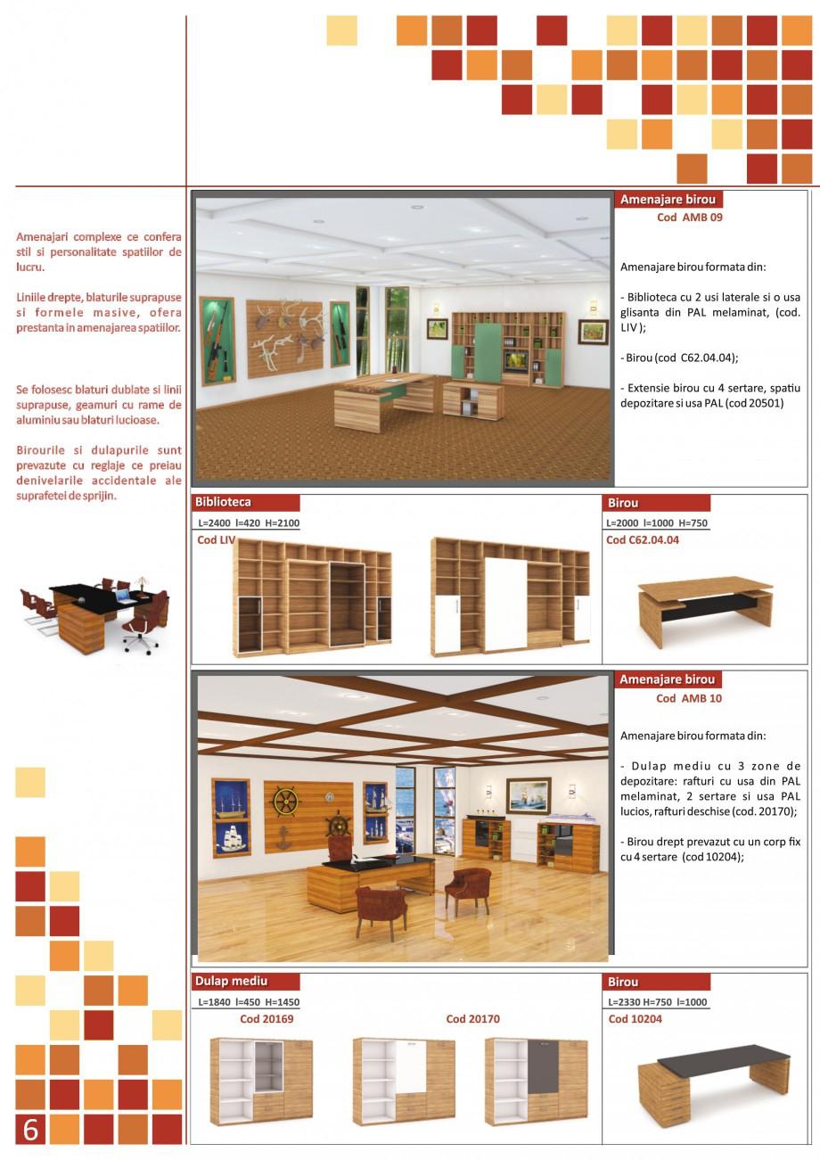 Catalog, brosura Mobilier pentru birouri - gama directoriala AMB 01, AMB 02, AMB 03, AMB 04, AMB 05, AMB 06, AMB 07, AMB 08, AMB 09, AMB 10, AMB 11, AMB 12, AMB 13, AMB 14, AMB 15, AMB 16, AMB 17, AMB 18 The Prince International Mobilier pentru birouri PRINCE INTERNATIONAL  - Pagina 6