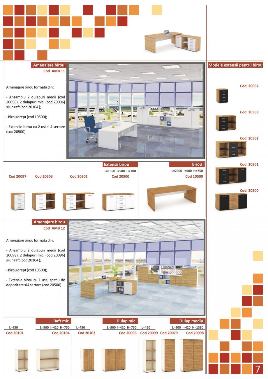 Catalog, brosura Mobilier pentru birouri - gama directoriala AMB 01, AMB 02, AMB 03, AMB 04, AMB 05, AMB 06, AMB 07, AMB 08, AMB 09, AMB 10, AMB 11, AMB 12, AMB 13, AMB 14, AMB 15, AMB 16, AMB 17, AMB 18 The Prince International Mobilier pentru birouri PRINCE INTERNATIONAL  - Pagina 7