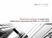Modernizari ascensoare - Solutii cu buget redus reparare panou si estetizare cabina MULTILIFT SYSTEMS
