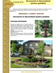 Accesorii si decoratiuni pentru gradina