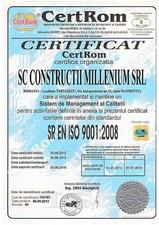 Certificat - ISO 9001-2008
