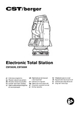 "Statie totala electronica CST Berger CST305R 5"" CST berger"