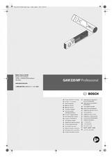 Professional Goniometru Digital BOSCH Professional GAM 220 M BOSCH