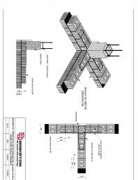 Intersectie T - zid exterior de 30 cm