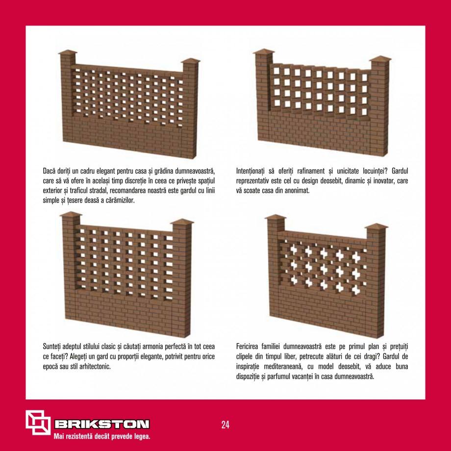 Pagina 26 - Ghid de montaj caramizi BRIKSTON CV D 170, CV D 210, CV D170/290, GO, CF 63 MODEL 01,...