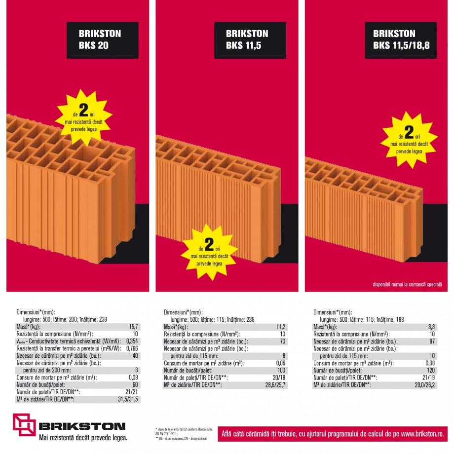 Pagina 10 - Blocuri ceramice pentru zidarie BRIKSTON CV D 170, CV D 210, CV D170/290, GO, CF 63...
