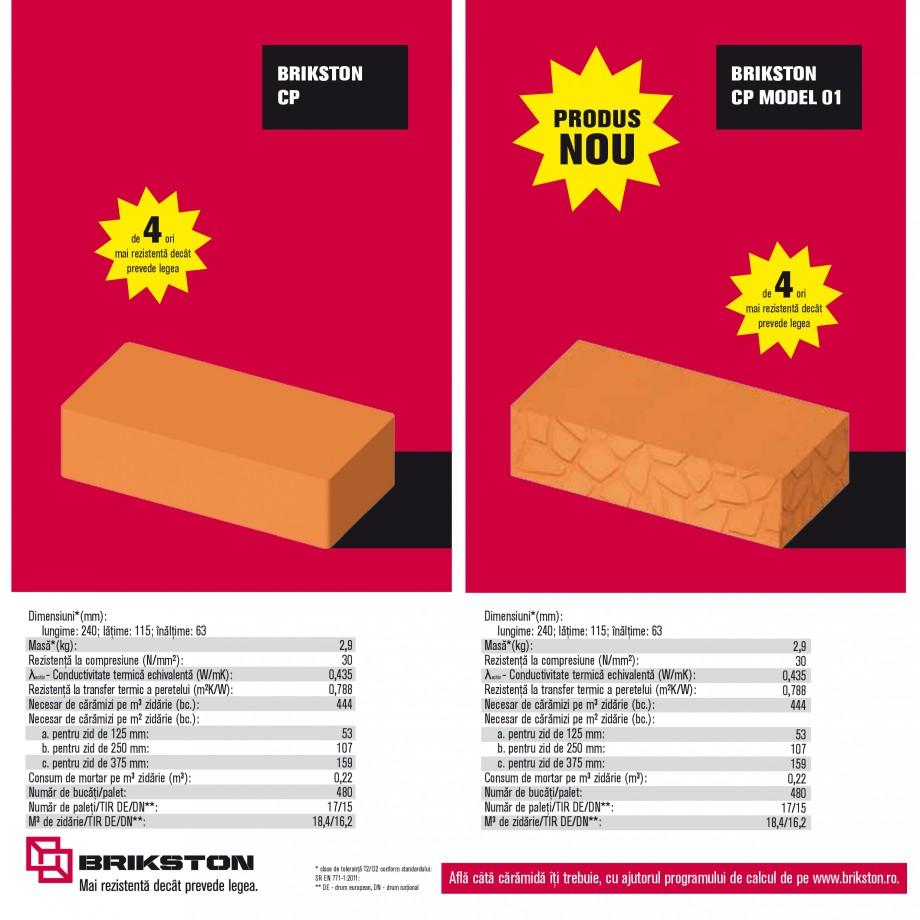Pagina 12 - Blocuri ceramice pentru zidarie BRIKSTON CV D 170, CV D 210, CV D170/290, GO, CF 63...