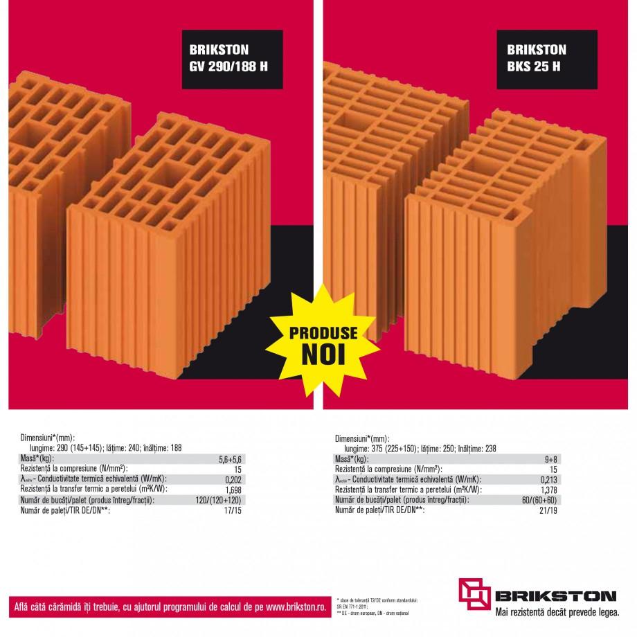 Pagina 15 - Blocuri ceramice pentru zidarie BRIKSTON CV D 170, CV D 210, CV D170/290, GO, CF 63...