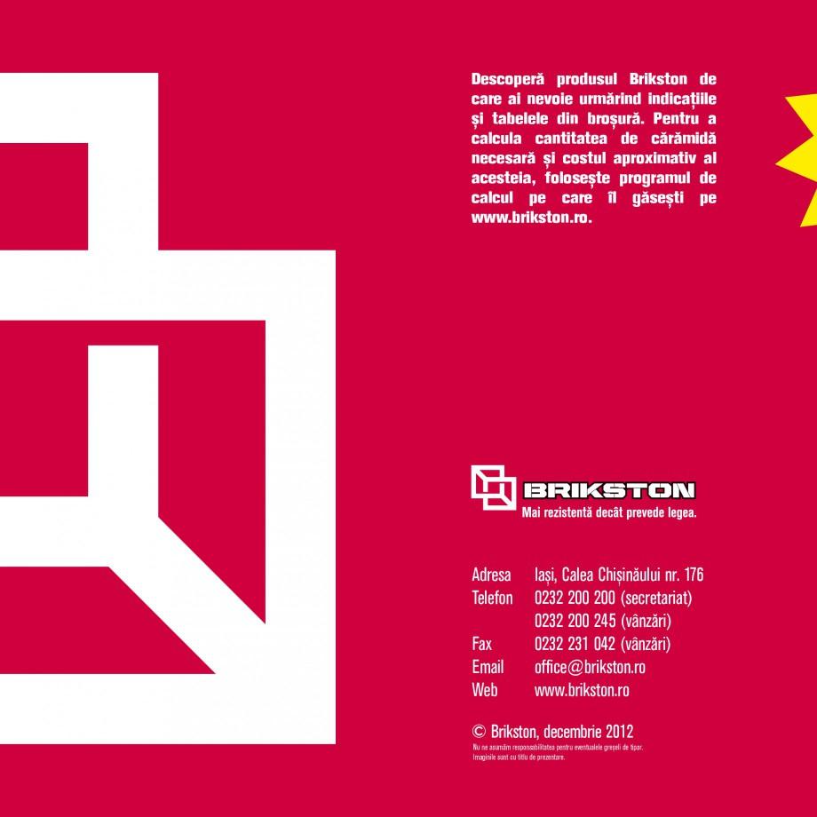 Pagina 16 - Blocuri ceramice pentru zidarie BRIKSTON CV D 170, CV D 210, CV D170/290, GO, CF 63...