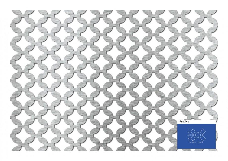 Pagina 1 - Tabla perforata - Perforatii decorative STANTOBANAT Arabica 20-24 Fisa tehnica Arabica ...