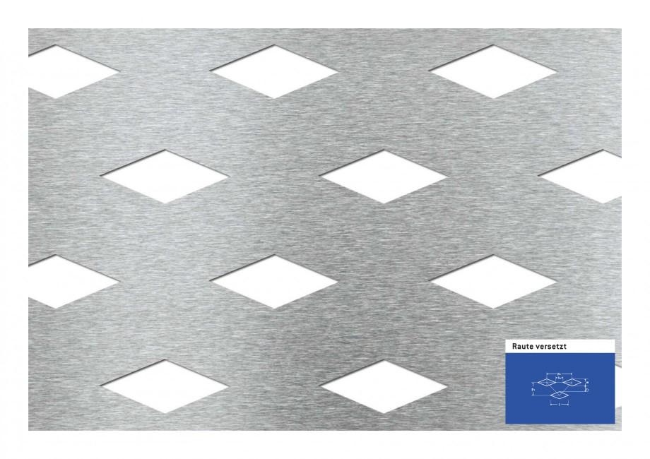 Pagina 1 - Tabla perforata - Perforatii decorative STANTOBANAT Rhomb 25-48 Fisa tehnica Raute...