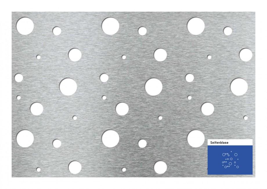 Pagina 1 - Tabla perforata - Perforatii decorative STANTOBANAT Soap Bubble Fisa tehnica Seifenblase ...