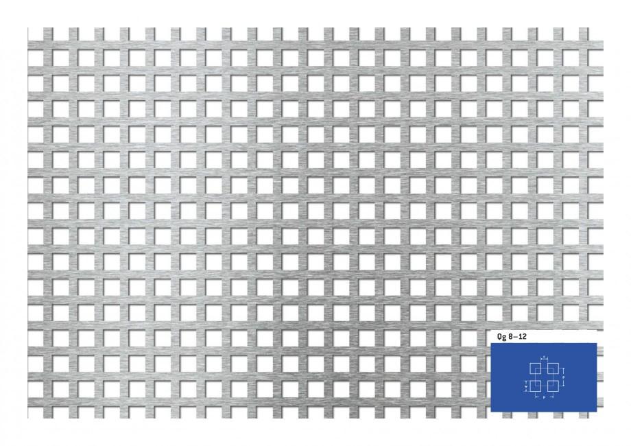 Pagina 1 - Tabla perforata - Perforatii patrate STANTOBANAT Qg 8-12 Fisa tehnica Qg 8–12 c  p  w  ...