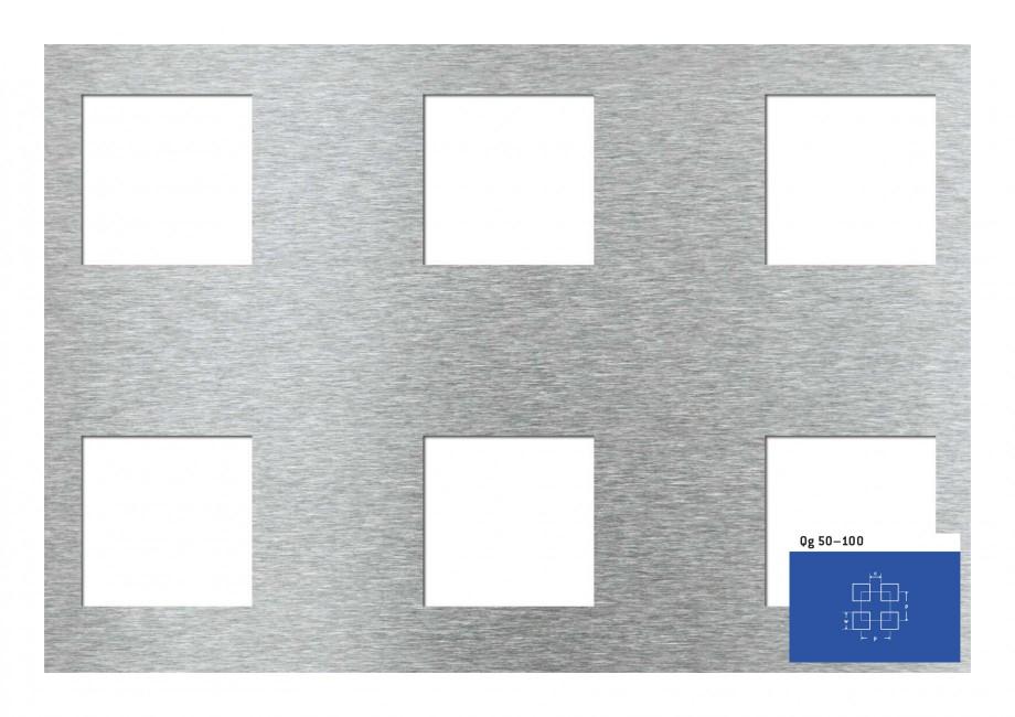 Pagina 1 - Tabla perforata - Perforatii patrate STANTOBANAT Qg 50-100 Fisa tehnica Qg 50–100 c  p ...