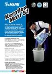 Adeziv pe baza de ciment pentru placi ceramice si placi din roci naturale MAPEI - KERAFLEX