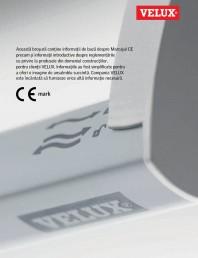 Marcajul CE - 2013 VELUX