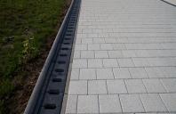 Rigole din beton compact pentru zone cu trafic pietonal  ELIS PAVAJE