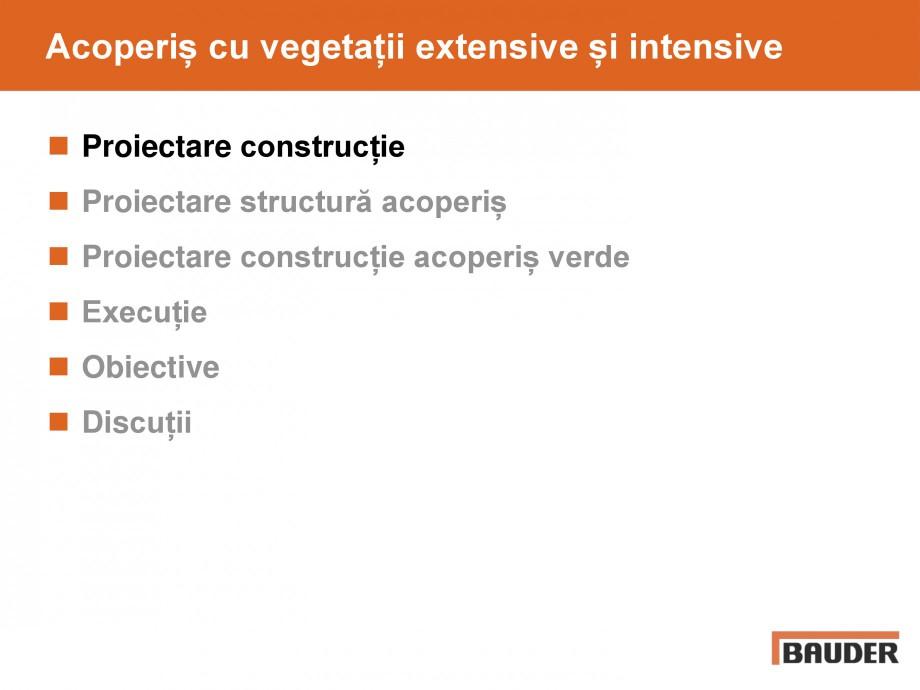 Pagina 3 - Acoperis cu vegetatii extensive si intensive   BAUDER Catalog, brosura Romana Planung...