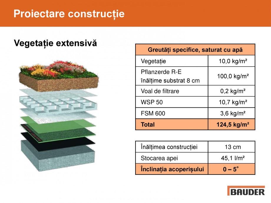 Pagina 7 - Acoperis cu vegetatii extensive si intensive   BAUDER Catalog, brosura Romana �i...
