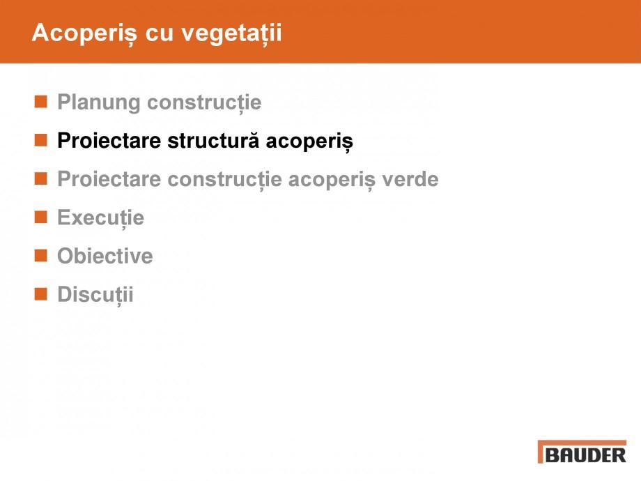 Pagina 15 - Acoperis cu vegetatii extensive si intensive   BAUDER Catalog, brosura Romana