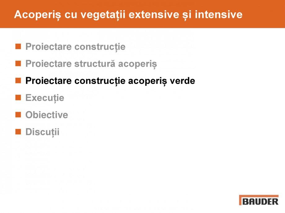 Pagina 22 - Acoperis cu vegetatii extensive si intensive   BAUDER Catalog, brosura Romana