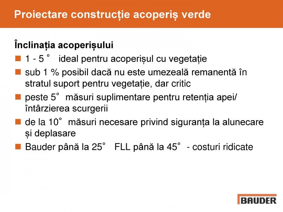 Pagina 23 - Acoperis cu vegetatii extensive si intensive   BAUDER Catalog, brosura Romana