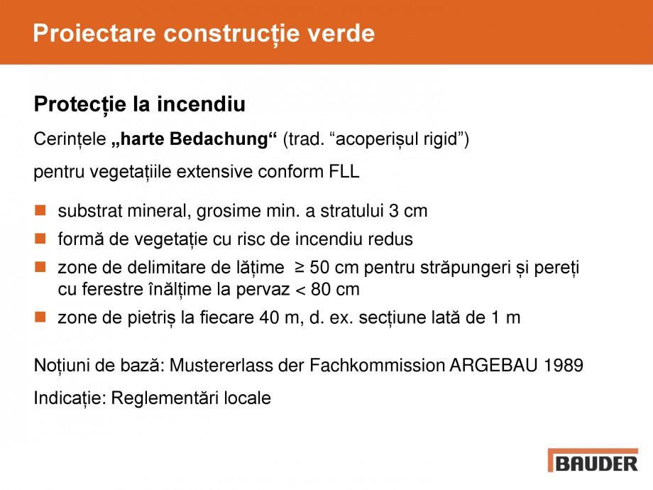 Pagina 29 - Acoperis cu vegetatii extensive si intensive   BAUDER Catalog, brosura Romana