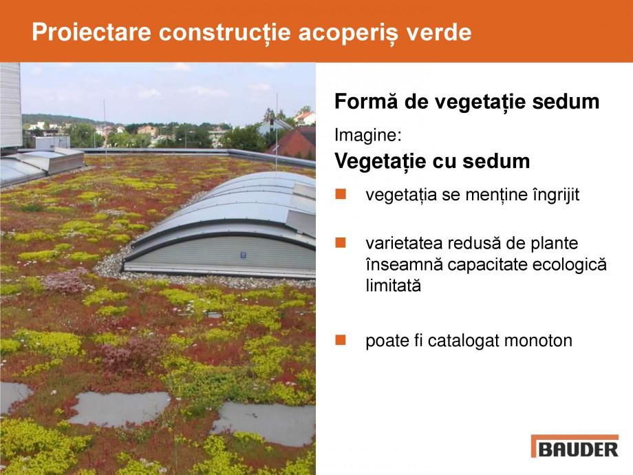 Pagina 38 - Acoperis cu vegetatii extensive si intensive   BAUDER Catalog, brosura Romana