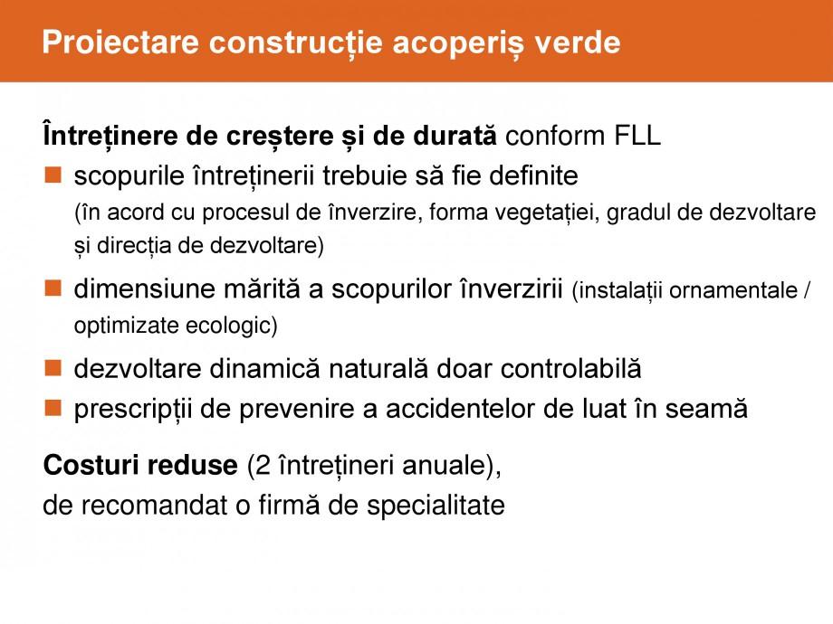 Pagina 40 - Acoperis cu vegetatii extensive si intensive   BAUDER Catalog, brosura Romana
