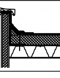 Termoizolatie din spuma poliuretanica - Racord la atic 1