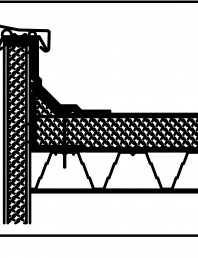 Termoizolatie din spuma poliuretanica - Racord la atic 2