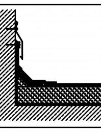 Termoizolatie din spuma poliuretanica - Racord la perete 2