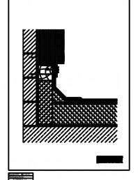 Termoizolatie din spuma poliuretanica - Racord la perete termoizolant