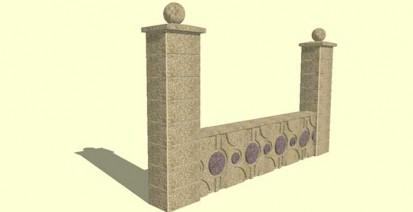Gard spalat Arabic Spalat Modele de gard