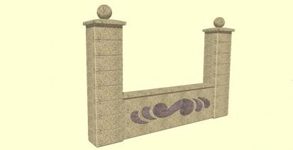 Gard spalat infinit Spalat Modele de gard