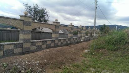 Gard spalat arcada Spalat Gard modular din beton